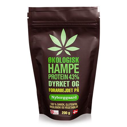 Hampeprotein 43% Nyborggaard Ø 200 g