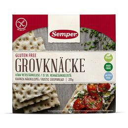 Knækbrød grov glutenfri Semper 215 g