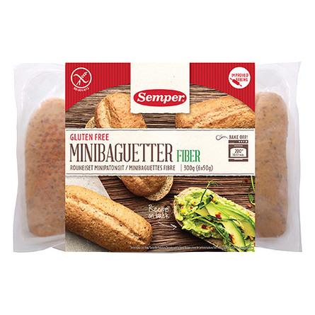 Baguette mini glutenfri Semper 300 g