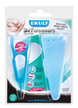 Ekulf BeTweeners Tandstikker Med Etui 20 stk.