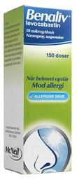 Benaliv Næsespray, 150 doser