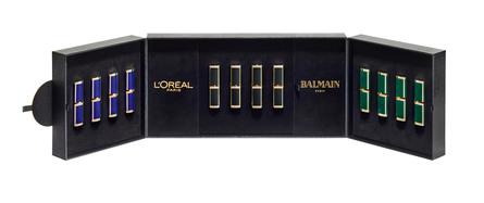 L'Oréal Paris Balmain Lipstick collection