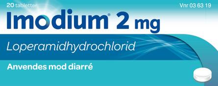 Imodium 2 mg 20 kapsler