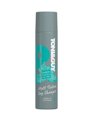 TONI&GUY Dry Shampoo Casual Matt Texturizer 250 ml