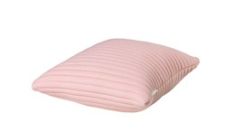 Nomess Linear Memory Pillow Square Nude