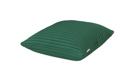 Nomess Linear Memory Pillow Square - GREEN