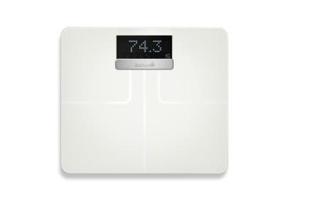 Garmin Index Smart Scale Kropsanalysevægt Max 180 kg Hvid