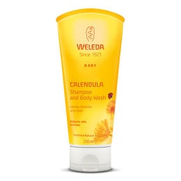 Calendula Shampoo & Body Wash Weleda 200 ml