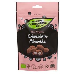 The Raw Chocolate Company Mandler m. rå chokolade Øko 110 gr.