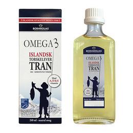 Islandsk tran Omega 3 Bornholms 240 ml