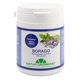 Borago hjulkroneolie Ø kapsler 500 mg 180 kap