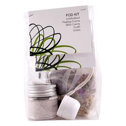 Fod Kit urtefodbad, peeling creme, aktiv creme,