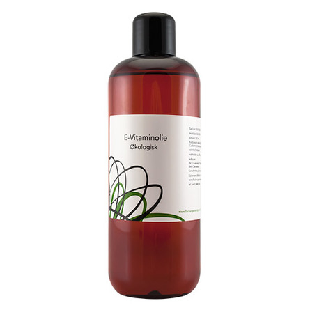 Organic Beauty E-Vitamin Olie Øko 500 ml