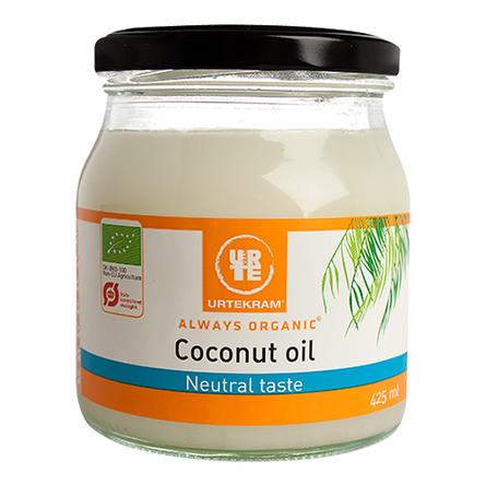 Urtekram Kokosolie, smagsneutral  Øko  425 ml