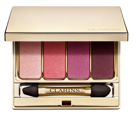 Clarins 4-Colour Eyeshadow Palette 07 Lovely Rose