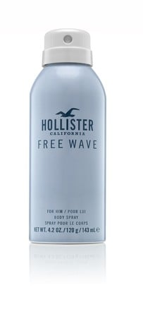 Hollister Free Wave for Him Body Spray 120 ml