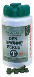 Chlorella Den grønne perle 640 tab