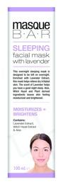 MasqueBar Sleeping Mask with Lavender 100ml
