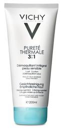 Vichy Pureté Thermale 3-i-1 Rensepleje 200 ml