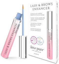 âme pure® Lash & Brows Enhancer 6 ml - hormonfri