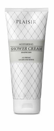 Plaisir Moisturising Shower Cream 200 ml