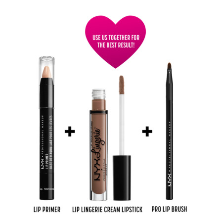 NYX PROF. MAKEUP Lip Lingerie Lqd Lipstk - Honeymo