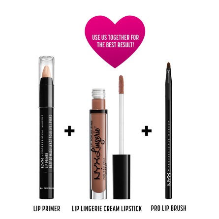NYX PROF. MAKEUP Lip Lingerie Lqd Lipstk- Bedtime