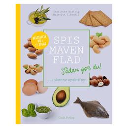 Spis maven flad bog Forfatter: Charlotte Hartvig