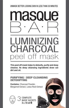 MasqueBar Luminizing Charcoal Peel Off 3x10mlMask