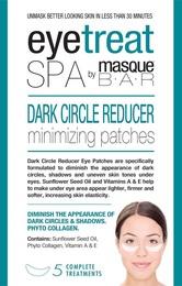MasqueBar Dark Circle Reducer Eye Patches 5ct