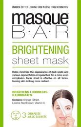 MasqueBar Brightening Sheet Mask 3x21ml