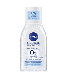 Nivea Micellar Eye make-up remover gel 125 ml.