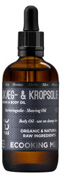 Ecooking Men Skæg & Kropsolie 100 ml