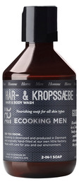 Ecooking Men Hår & Kropssæbe 250 ml