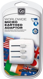 GoTravel Worldwide Adaptor, hvid