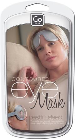 GoTravel Luksus sovemaske, grå