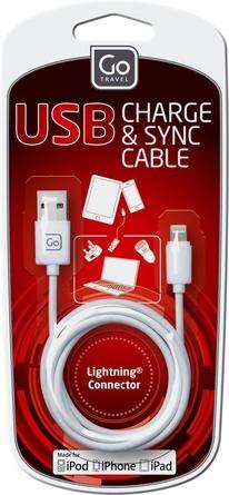 GoTravel USB Kabel (MFI) Hvid