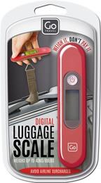 GoTravel Digital baggagevægt, rød