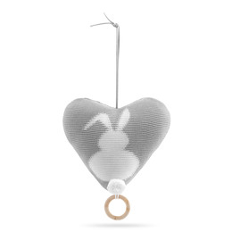 Vanilla Musik Bunny Heart 20x20 cm
