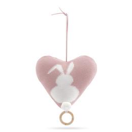 Vanilla Music Little Bunny Heart Rose