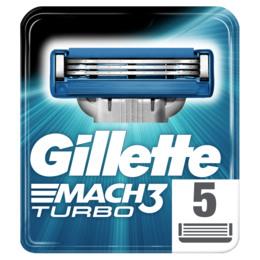 Gillette Mach3 Turbo blade 5-pak