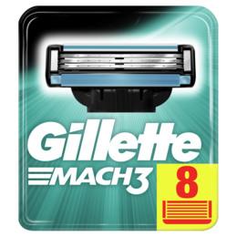 Gillette Mach3 blade LP 8-pak