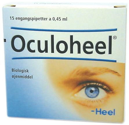 Oculoheel øjendråber 15 x 0,45 ml