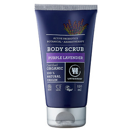 Urtekram Body scrub Purple Lavender øko 150 ml