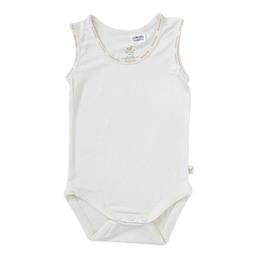 Boody Baby Sleveeless Bodysuit Natur 3-6
