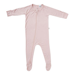 Boody Baby Long Sleeve Body Suit Lyserød NB