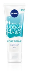 Nivea Essentials Urban 3in1 Detox Mask Pore Refine 75 ml