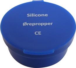 Ørepropper silicone 1 par