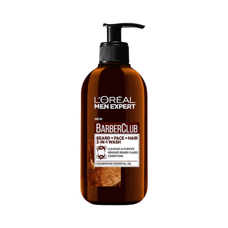 L'Oréal Paris Men Exp. Barber Club 3-in-1 Wash 200 ml