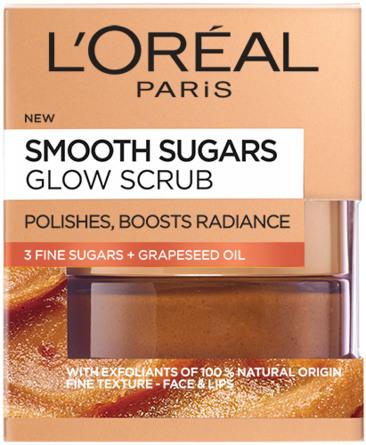 L'Oréal Sugar Scrub Glow Grape Seed 50 ml